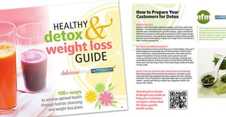 Healthy detox and weight loss education tools