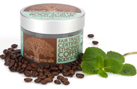 Fair-trade-certified Ethiopian Coffee Scrub