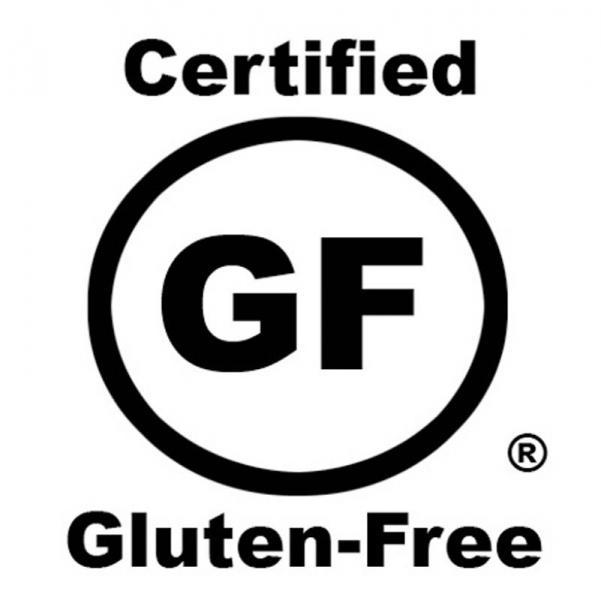 Certified gluten-free seal