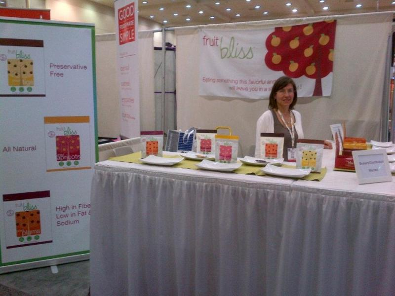 Fruit Bliss booth at Natural Products Expo East 2011