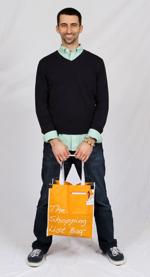 Dan Russo of The Shopping List Bag