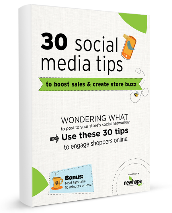 30 social media tips to boost sales & create store buzz