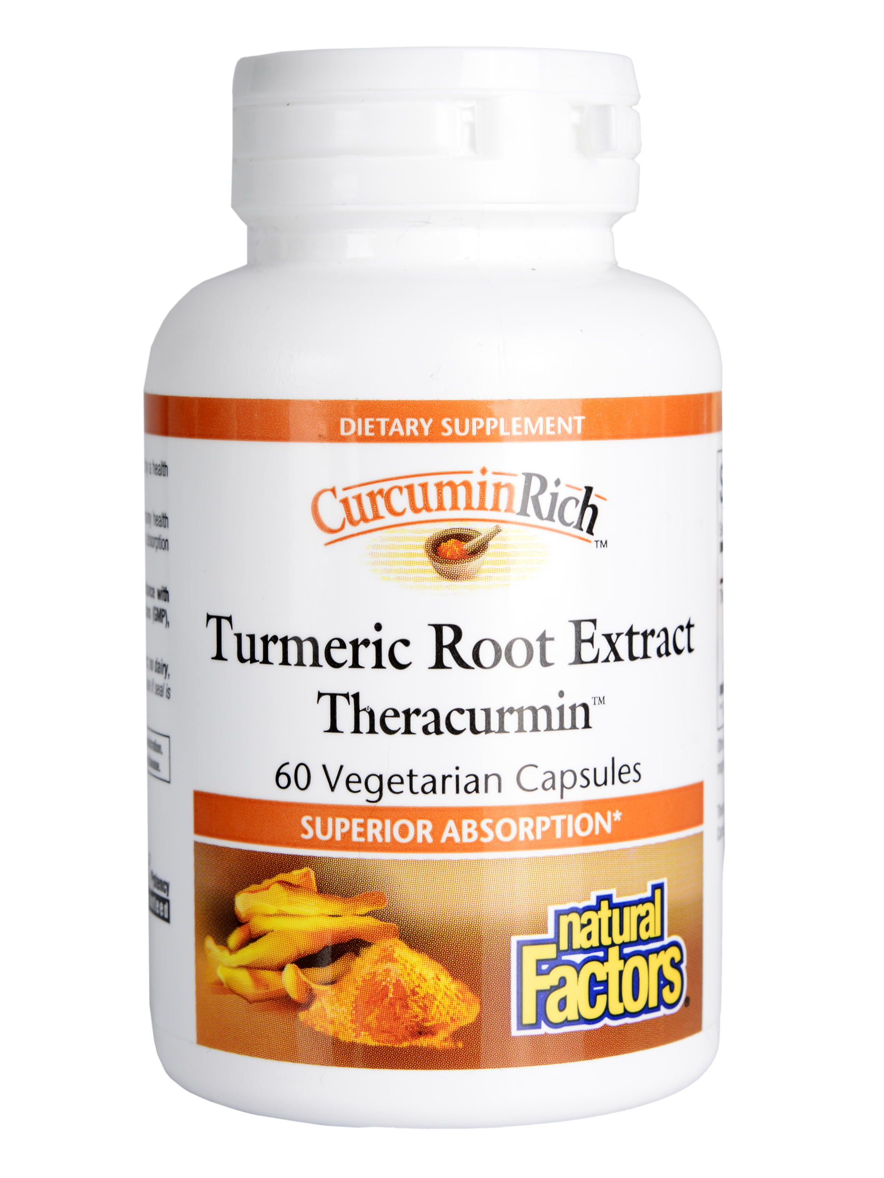 Natural Factors CurcuminRich Turmeric Root Extract with Theracurmin