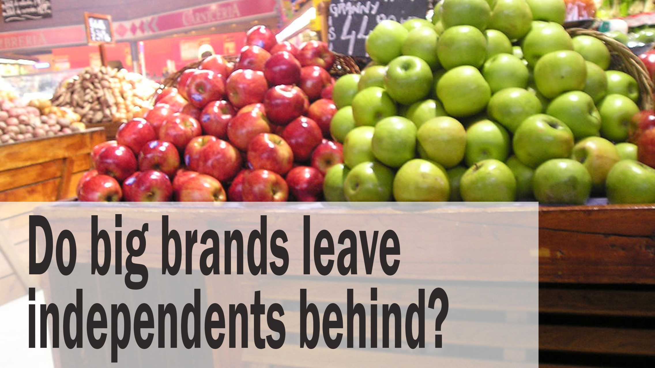 Is natural brand growth the retailer's enemy?