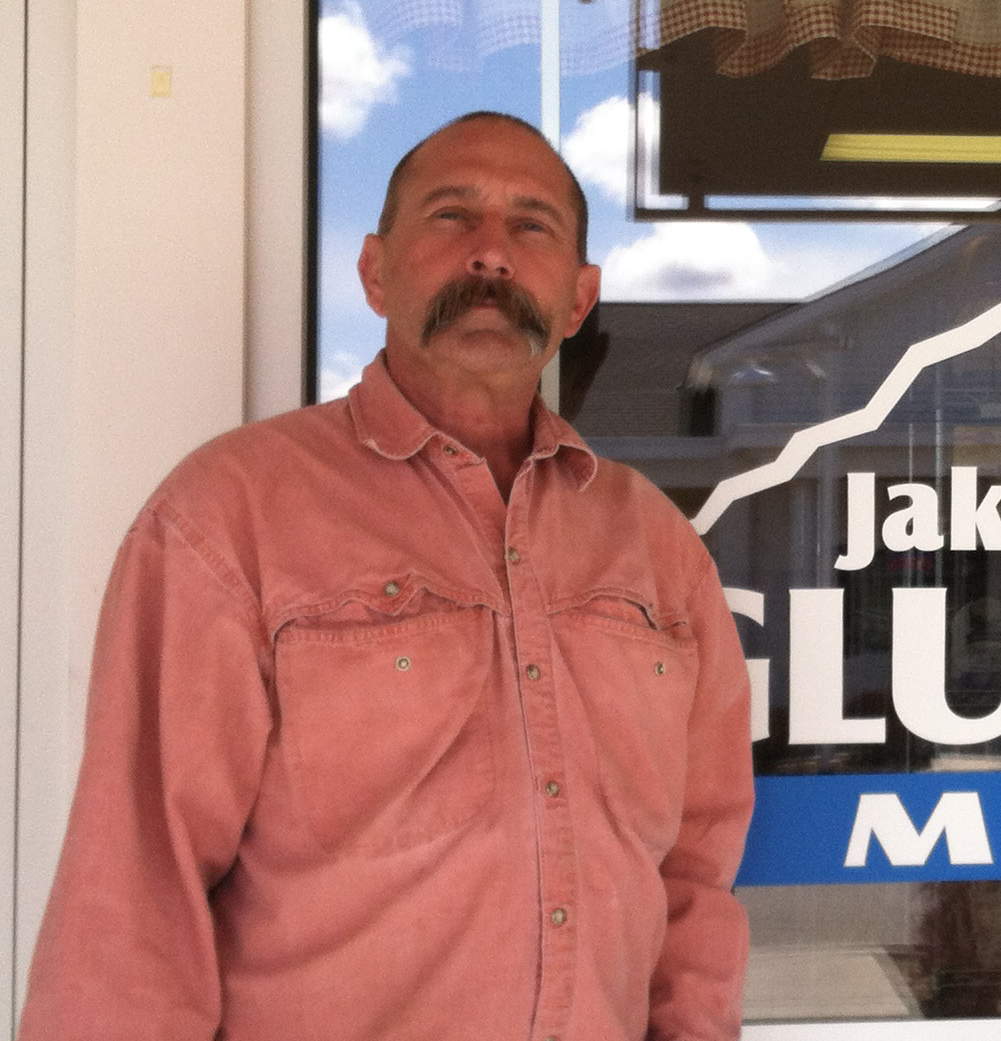 Clint Pederson, co-owner of Jake's Gluten Free Market in Boise, Idaho