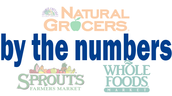 A look at the numbers: Whole Foods, Natural Grocers and Sprouts