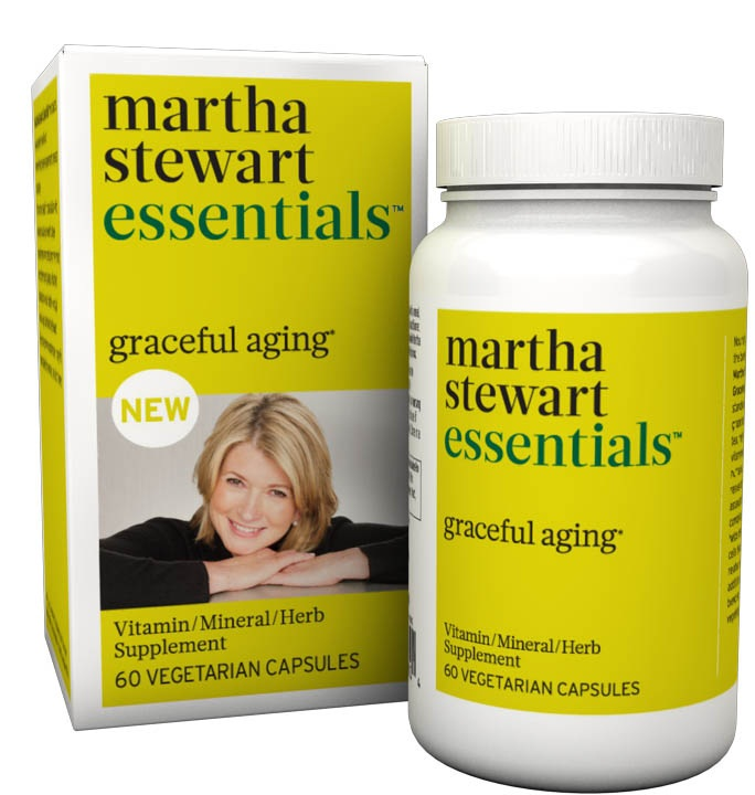 Martha Stewart launches whole-food supplements