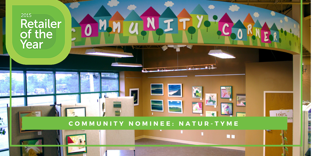 Retailer of the Year nominee Natur-Tyme