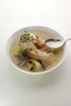 Fish soup with collagen